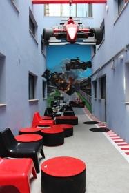 Amazing sports themed hostel, Bcnsporthostels
