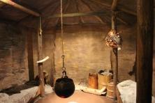 Viking hut